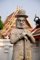 Gate Keeper Statue : Wat Pho
