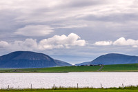 Hoy over the Loch of Stenness
